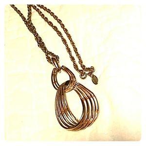 Vintage Gold Vendome Necklace